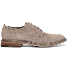 Officine Creative Durham Suede Derby Shoes
