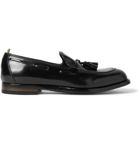 IVY CANYON LEATHER TASSELLED LOAFERS