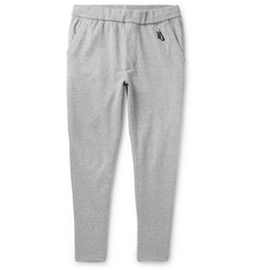 16fd6a42dcd0 Nike Nikelab Essentials Tapered Mélange Loopback Stretch-Cotton Jersey  Sweatpants