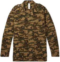 MAN 1924 Camouflage-Print Cotton-Ripstop Field Jacket