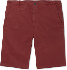MAN 1924 Cotton-Twill Bermuda Shorts