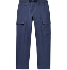 MAN 1924 Tomi Slim-Fit Cotton Drawstring Cargo Trousers