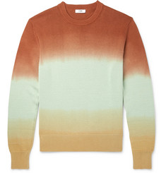CMMN SWDN Colby Dégradé Cotton Sweater