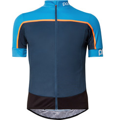 POC - Essential Road Colour-Block Mesh Cycling Jersey