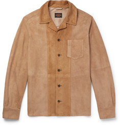 Tod's - Panelled Suede Shirt Jacket