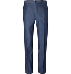 Tod's Indigo Washed-Denim Trousers