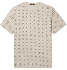 Theory Claey Printed Cotton-Jersey T-Shirt