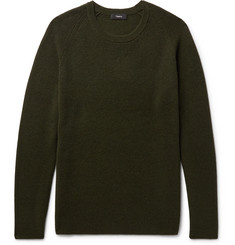 Theory - Enzo Ribbed Cashmere Sweater