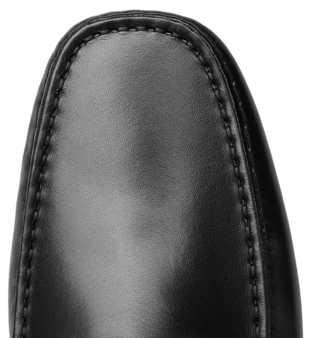 df54e96c134 Tod s City Gommino Leather Penny Loafers - Black