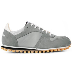 Spalwart Marathon Trail Suede and Leather Sneakers
