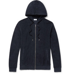 Sunspel Cotton-Terry Zip-Up Hoodie