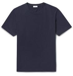 Sunspel Riviera Cotton-Mesh T-Shirt