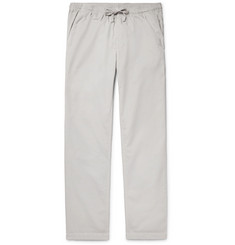 Save Khaki United - Easy Cotton-Twill Drawstring Trousers