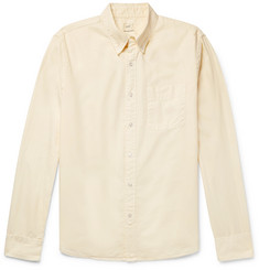 Save Khaki United Button-Down Collar Cotton Oxford Shirt