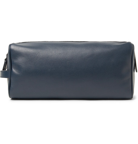 Leather Wash Bag by Common Projects