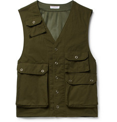 Engineered Garments - C-1 Slim-Fit Cotton and Mesh Gilet