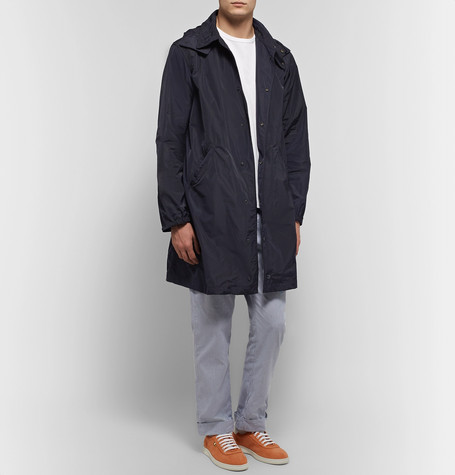 Oversized Shell Hooded Coat by Engineered Garments