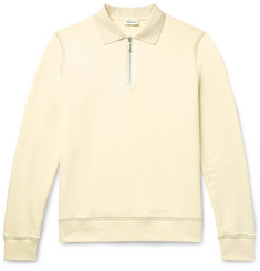 You As Payne Slim-Fit Loopback Cotton-Jersey Half-Zip Sweatshirt