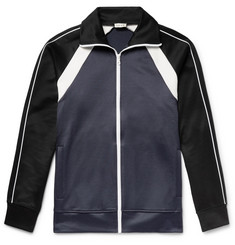 You As Colour-Block Tencel and Cotton-Blend Jersey Track Jacket