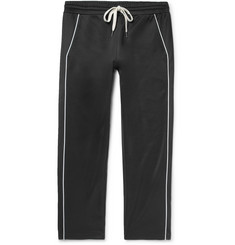 You As - Lukas Piped Tencel and Cotton-Blend Jersey Drawstring Trousers