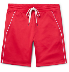 You As Ace Piped Tencel and Cotton-Blend Jersey Drawstring Shorts