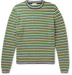 You As Mathis Striped Cotton-Bouclé Sweater