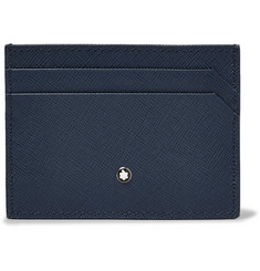 Montblanc - Sartorial Two-Tone Cross-Grain Leather Cardholder
