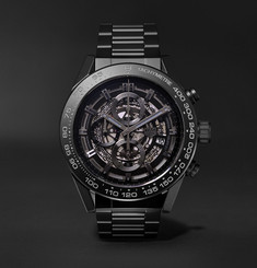 TAG Heuer - Carrera Automatic Chronograph 45mm Ceramic Watch
