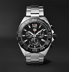 TAG Heuer Formula 1 Chronograph 43mm Stainless Steel Watch, Ref. No. CAZ1010.BA0842