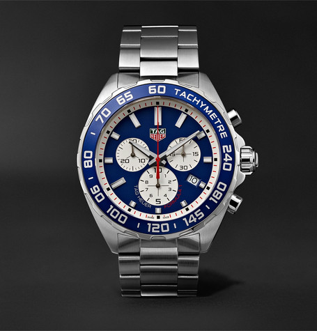 TAG Heuer Formula 1 Chronograph 43mm Stainless Steel Watch, Ref. No. CAZ1018.BA0842