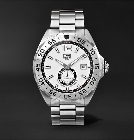 Formula 1 Automatic 43mm Stainless Steel Watch - Silver
