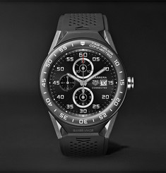 TAG Heuer - Connected Modular 45mm Titanium, Ceramic and Rubber Smart Watch