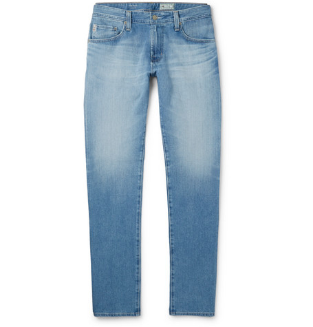 AG Jeans Tellis Slim-fit Stretch-denim Jeans - Light denim vHWHY6D
