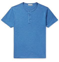 Alex Mill - Slub Cotton-Jersey Henley T-Shirt