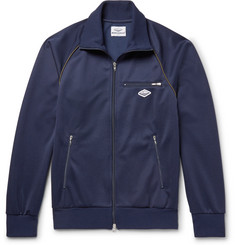 Battenwear Piped Satin-Jersey Track Jacket