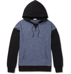 Eidos Loopback Cotton-Blend Jersey Hoodie