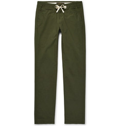 Freemans Sporting Club Slim-Fit Cotton-Ripstop Drawstring Trousers