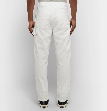 Denim Cargo Trousers by Eidos