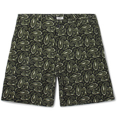 Eidos Morgan Printed Cotton Shorts