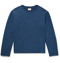 SIMON MILLER Garvey Loopback Cotton-Jersey Sweatshirt