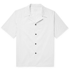 SIMON MILLER Camp-Collar Striped Cotton Shirt