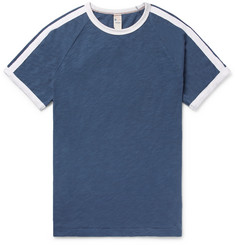 Todd Snyder + Champion Striped Slub Cotton-Jersey T-Shirt