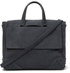 Tod's Gommini Suede Tote Bag