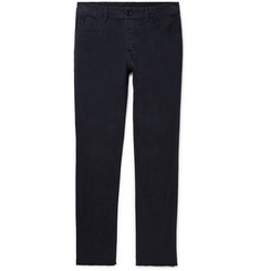 James Perse Slim-Fit Brushed Stretch-Cotton Twill Chinos