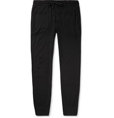 James Perse Slim-Fit Tapered Baby Cashmere Sweatpants