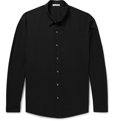 Cotton-voile Shirt - Black