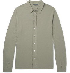 Thom Sweeney - Slim-Fit Cotton-Jersey Shirt