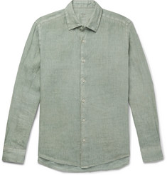 Altea Garment-Dyed Linen Shirt