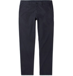 Altea Milano Slim-Fit Stretch-Cotton Poplin Trousers