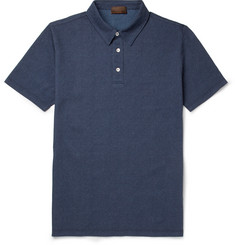 Altea Cotton-Chambray Polo Shirt